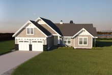 Dream House Plan - Southern Exterior - Front Elevation Plan #1070-8