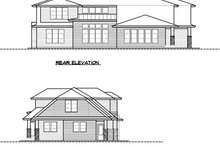 House Plan Design - Modern Exterior - Other Elevation Plan #1066-53