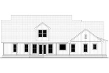 Architectural House Design - Farmhouse Exterior - Rear Elevation Plan #430-249