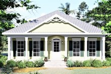 House Plan Design - Southern Exterior - Front Elevation Plan #44-151