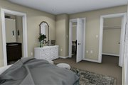Traditional Style House Plan - 3 Beds 2.5 Baths 1621 Sq/Ft Plan #1060-4 Interior - Master Bedroom
