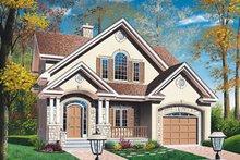 Home Plan - European Exterior - Front Elevation Plan #23-229
