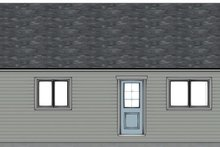 Architectural House Design - Colonial Exterior - Other Elevation Plan #126-231