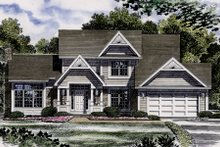 Dream House Plan - Country Exterior - Front Elevation Plan #316-101