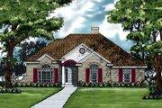 European Style House Plan - 3 Beds 2 Baths 1891 Sq/Ft Plan #40-105