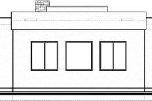 Modern Exterior - Rear Elevation Plan #1073-6