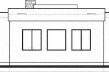 Modern Exterior - Rear Elevation Plan #1073-6