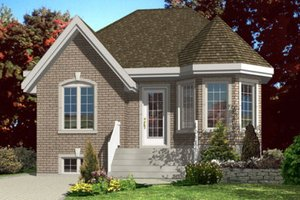 Traditional Exterior - Front Elevation Plan #138-319