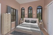 Mediterranean Style House Plan - 4 Beds 3 Baths 2953 Sq/Ft Plan #938-90 Interior - Bedroom