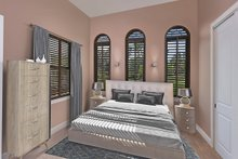 Mediterranean Interior - Bedroom Plan #938-90