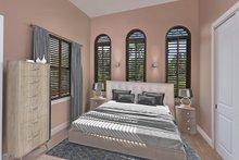 Mediterranean Interior - Bedroom Plan #938-90