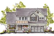 Country Style House Plan - 4 Beds 2.5 Baths 2218 Sq/Ft Plan #20-248 Exterior - Front Elevation