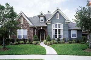 House Design - European Exterior - Front Elevation Plan #410-412