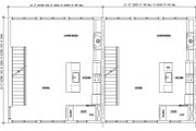 Modern Style House Plan - 2 Beds 2 Baths 5850 Sq/Ft Plan #448-1 Floor Plan - Main Floor Plan