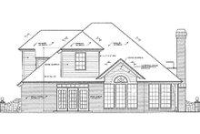 Dream House Plan - European Exterior - Rear Elevation Plan #310-415