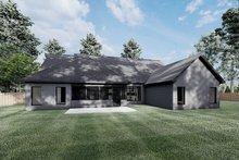 Dream House Plan - European Exterior - Rear Elevation Plan #923-187