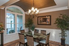 Dream House Plan - European Interior - Dining Room Plan #929-27