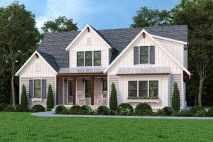 House Blueprint - Farmhouse Exterior - Front Elevation Plan #927-1020