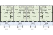 Traditional Style House Plan - 2 Beds 1 Baths 3920 Sq/Ft Plan #17-2457 Floor Plan - Main Floor Plan