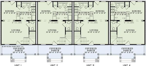 Traditional Floor Plan - Main Floor Plan #17-2457
