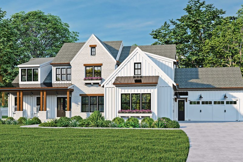 House Plan Design - Traditional Exterior - Front Elevation Plan #927-1024