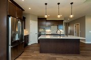 Ranch Style House Plan - 2 Beds 2 Baths 1703 Sq/Ft Plan #70-1458 Interior - Kitchen