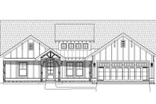 Craftsman Exterior - Front Elevation Plan #932-275