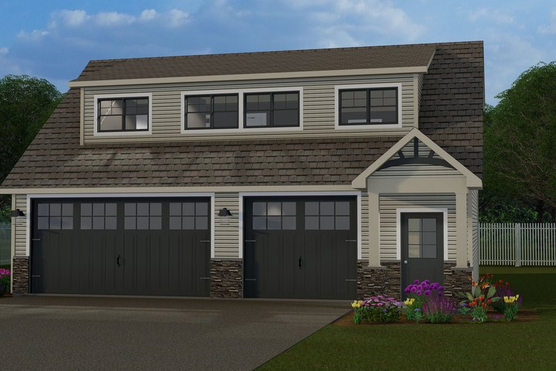 House Design - Craftsman Exterior - Front Elevation Plan #1064-91