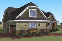 Dream House Plan - Craftsman Exterior - Other Elevation Plan #51-516