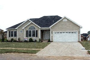 Traditional Exterior - Front Elevation Plan #412-139