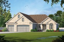Home Plan - Traditional Exterior - Front Elevation Plan #20-2307