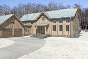 Cabin Style House Plan - 3 Beds 2 Baths 2197 Sq/Ft Plan #497-47