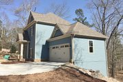 Craftsman Style House Plan - 2 Beds 2.5 Baths 1959 Sq/Ft Plan #437-91 Exterior - Other Elevation
