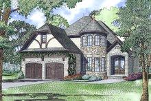 House Plan Design - European Exterior - Front Elevation Plan #17-2566