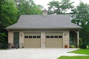 Country Style House Plan - 0 Beds 0 Baths 885 Sq/Ft Plan #81-13798 Exterior - Front Elevation
