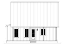 Dream House Plan - Farmhouse Exterior - Rear Elevation Plan #430-227