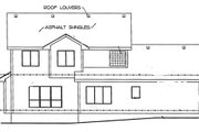 Traditional Style House Plan - 4 Beds 2.5 Baths 2019 Sq/Ft Plan #20-2144 Exterior - Rear Elevation