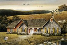 Architectural House Design - Traditional Exterior - Other Elevation Plan #57-102