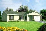 Adobe / Southwestern Style House Plan - 3 Beds 2 Baths 1310 Sq/Ft Plan #1-231
