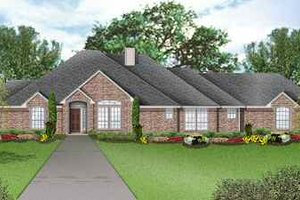 Home Plan - Traditional Exterior - Front Elevation Plan #84-137