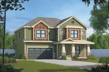 Craftsman Exterior - Front Elevation Plan #20-2325