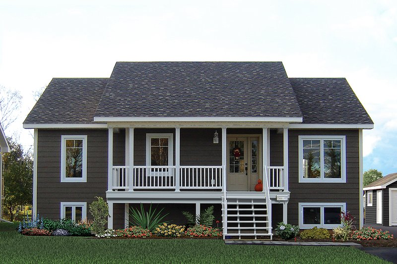 House Plan Design - Country Exterior - Front Elevation Plan #23-2569