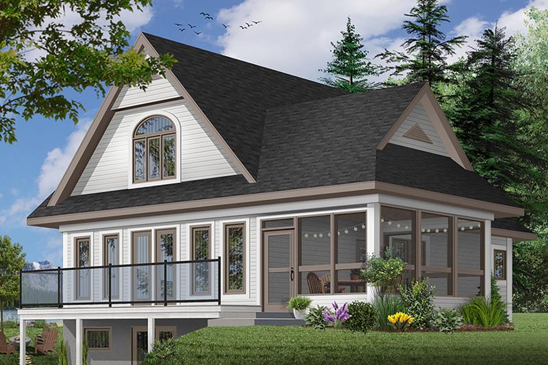 Farmhouse Exterior - Front Elevation Plan #23-525