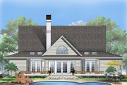 Country Style House Plan - 4 Beds 3 Baths 2321 Sq/Ft Plan #929-87 Exterior - Rear Elevation
