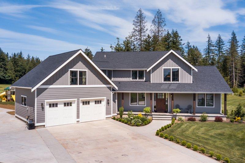 House Plan Design - Contemporary Exterior - Front Elevation Plan #1070-81