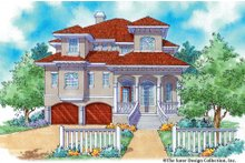Mediterranean Exterior - Front Elevation Plan #930-16