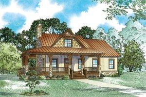Craftsman Exterior - Front Elevation Plan #17-3427