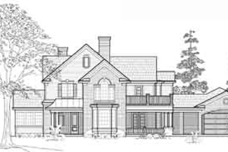 Traditional Exterior - Front Elevation Plan #61-330 - Houseplans.com