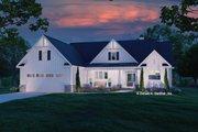 Farmhouse Style House Plan - 3 Beds 2 Baths 1924 Sq/Ft Plan #929-1138