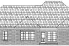 Home Plan - Traditional Exterior - Rear Elevation Plan #21-164